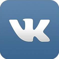 логотип ВК обрезан